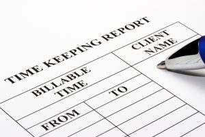 must a fixed fee lawyer keep time sheets louisiana legal ethics