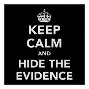 hide-evidence